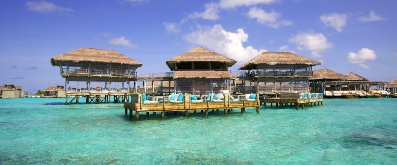 Deck a Dence and Longitude at Six Senses Laamu, Maldives, Indian Ocean