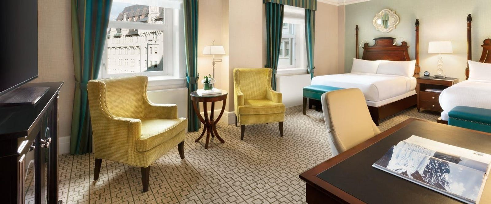 Deluxe Double Room at Fairmont Chateau Laurier, Ontario