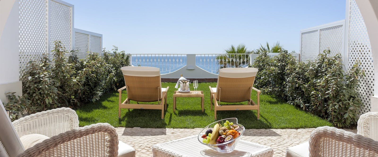 Deluxe Ocean View Terrace at Vila Vita Parc, Algarve