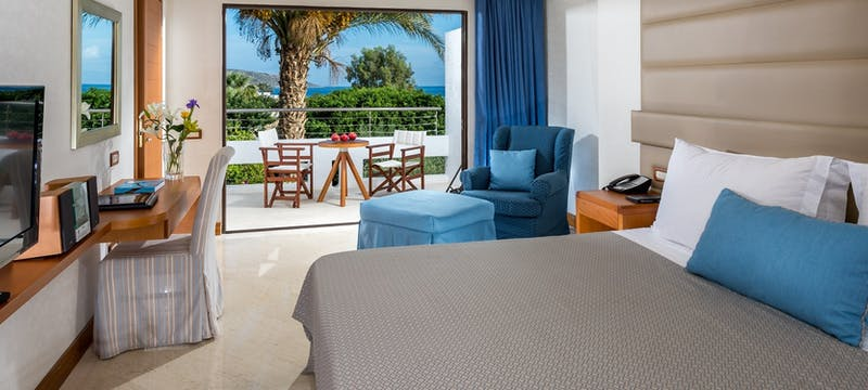 Deluxe Room Sea View at Elounda Bay Palace, Crete, Greece