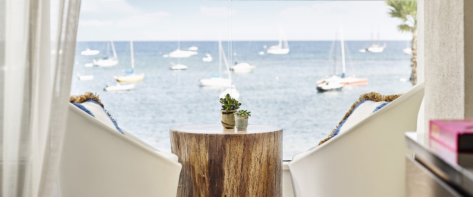 Deluxe Sea View Balcony at Nobu Hotel Ibiza Bay, Ibiza, Spain