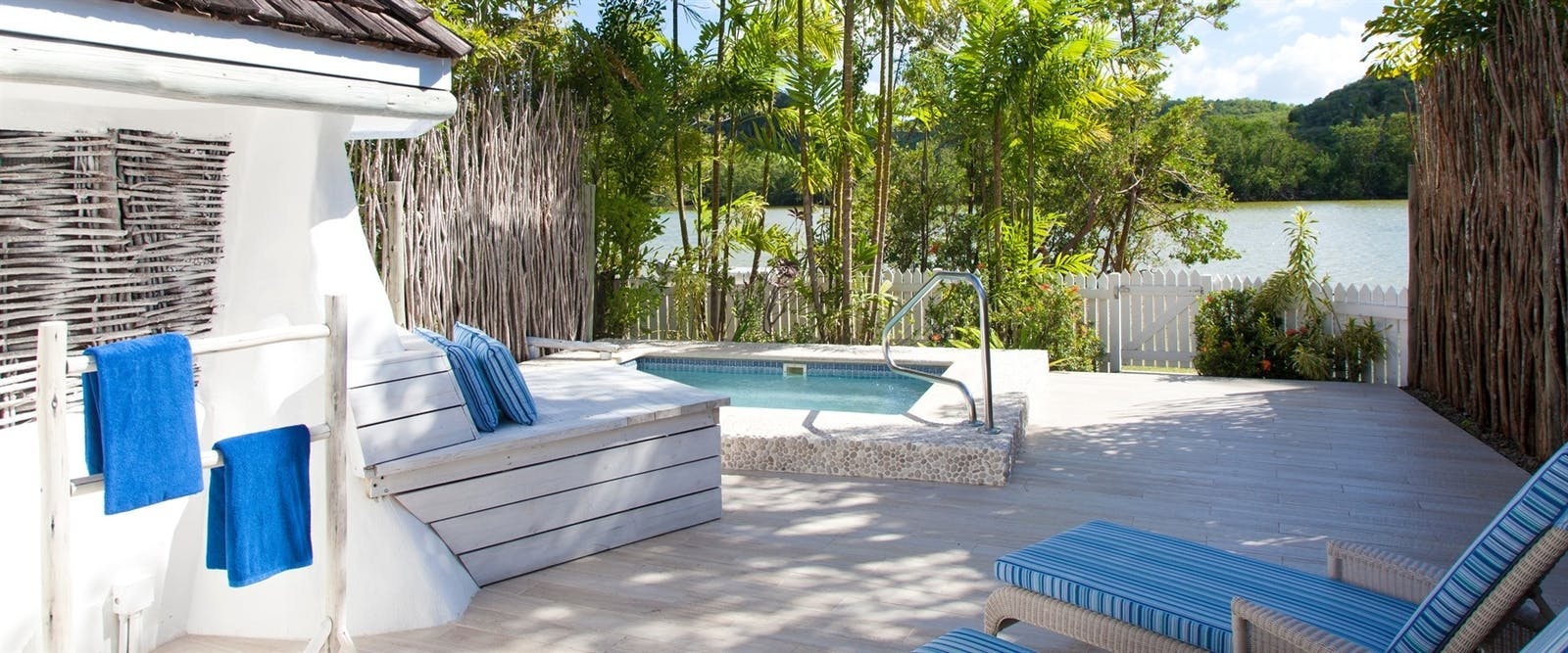 Gauguin Suite Pool at Galley Bay Resort & Spa, Antigua