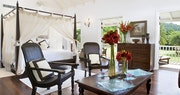 Interior of a deluxe junior suite at The Inn at English Harbour, Antigua