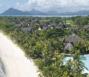 Overview of Dinarobin Beachcomber Golf Resort & Spa, Mauritius