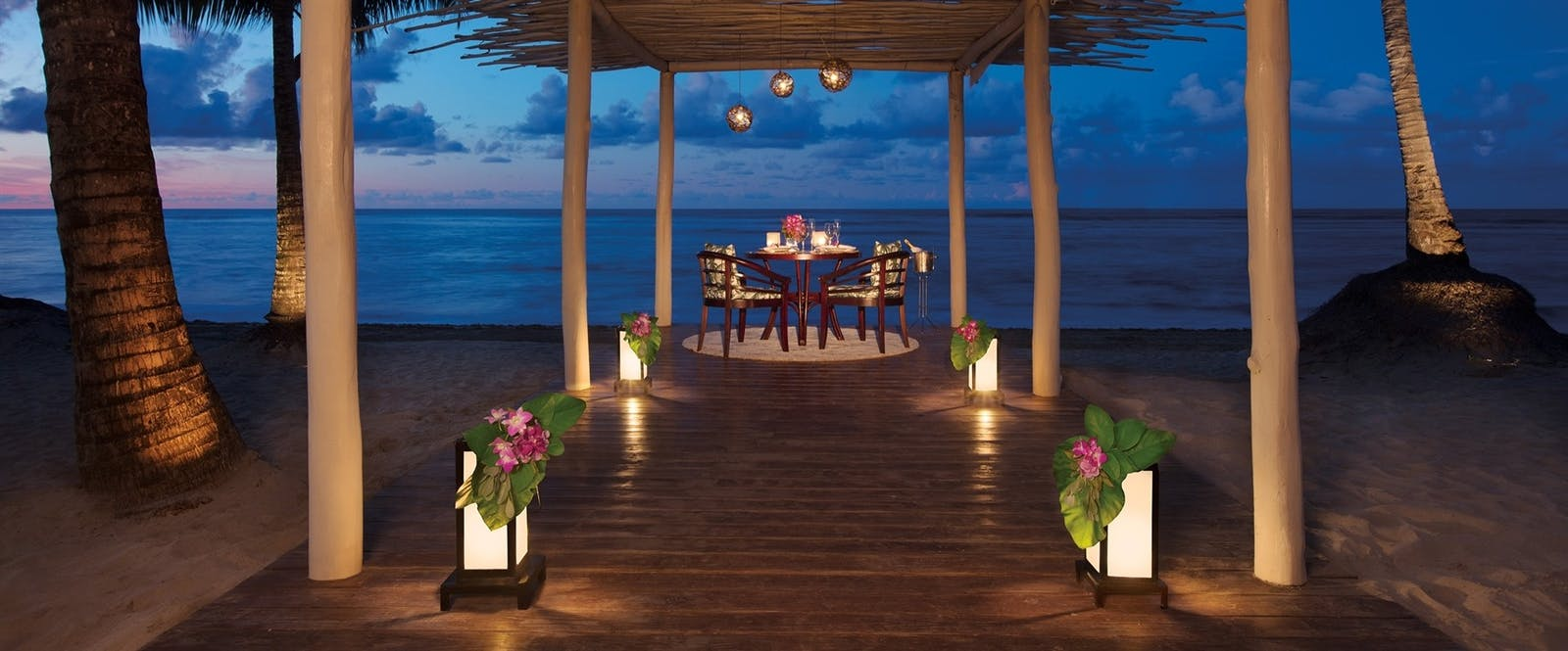 Romantic Dinner at Zoetry Agua Punta Cana, Dominican Republic