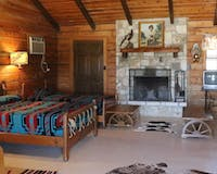 Bedroom At At Dixie Dude Ranch