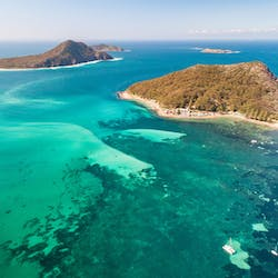 Aerial View, Bannisters Port Stephens, Port Stephens, New South Wales, Australia
