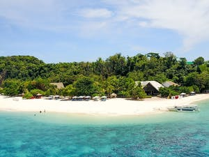 Beautiful shot of Club Paradise Coron, Palawan