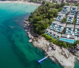 Aerial view of Kata Rocks, Phuket
