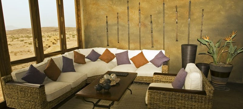 Lounge area at Doro Nawas