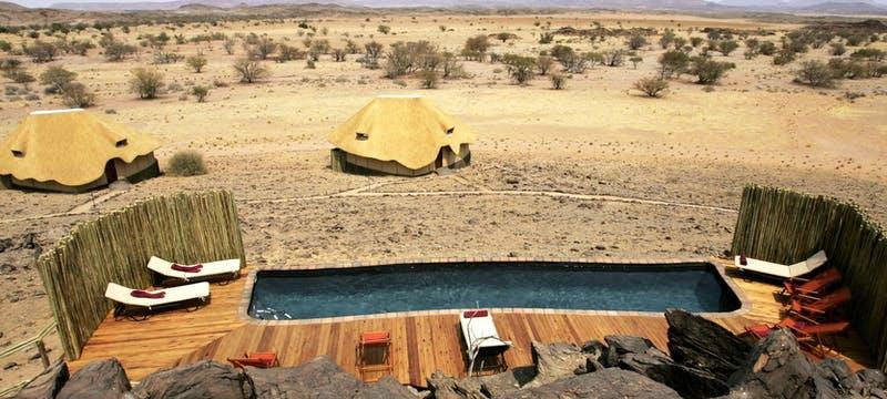 Pool area at Doro Nawas
