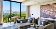 Panorama Suite living room at Six Senses Douro Valley