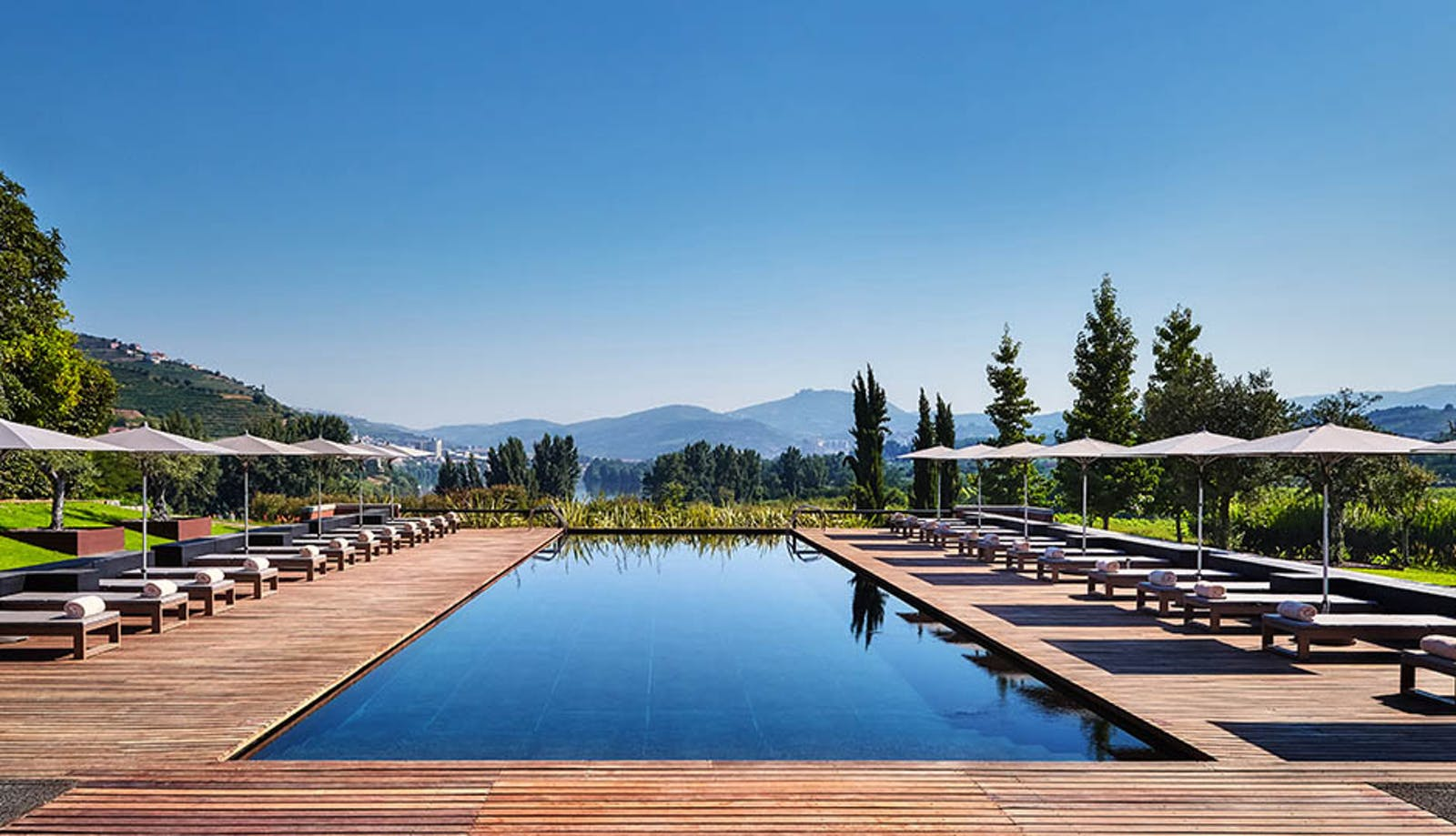 Swimming Pool at Six Senses Douro Valley, Portugal