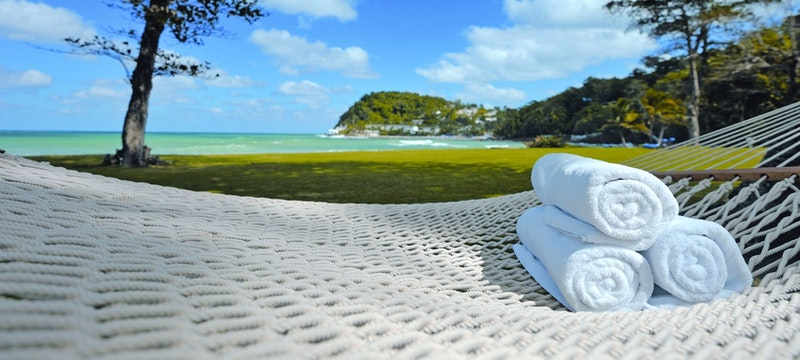 Relax in the spa at Round Hill Villas, Jamaica