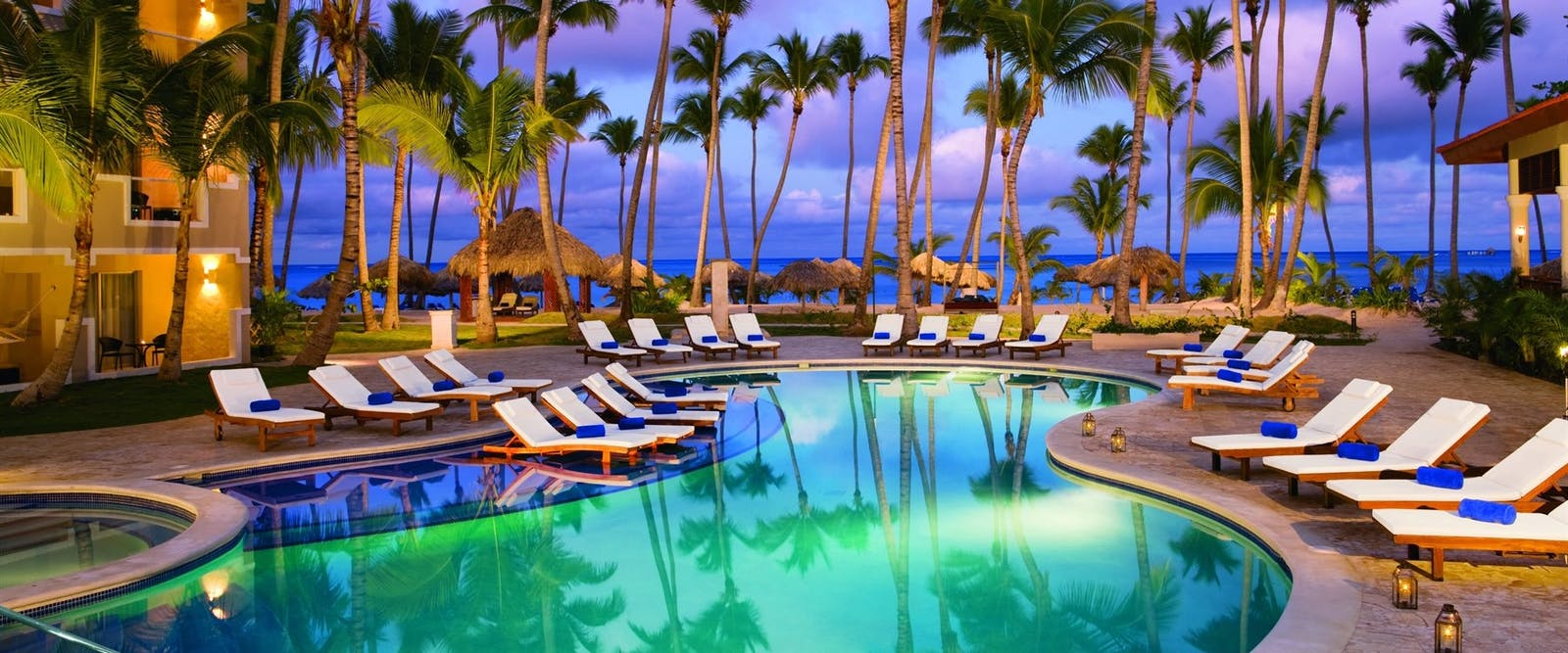 Preferred club pool at Dreams Palm Beach Punta Cana, Dominican Republic