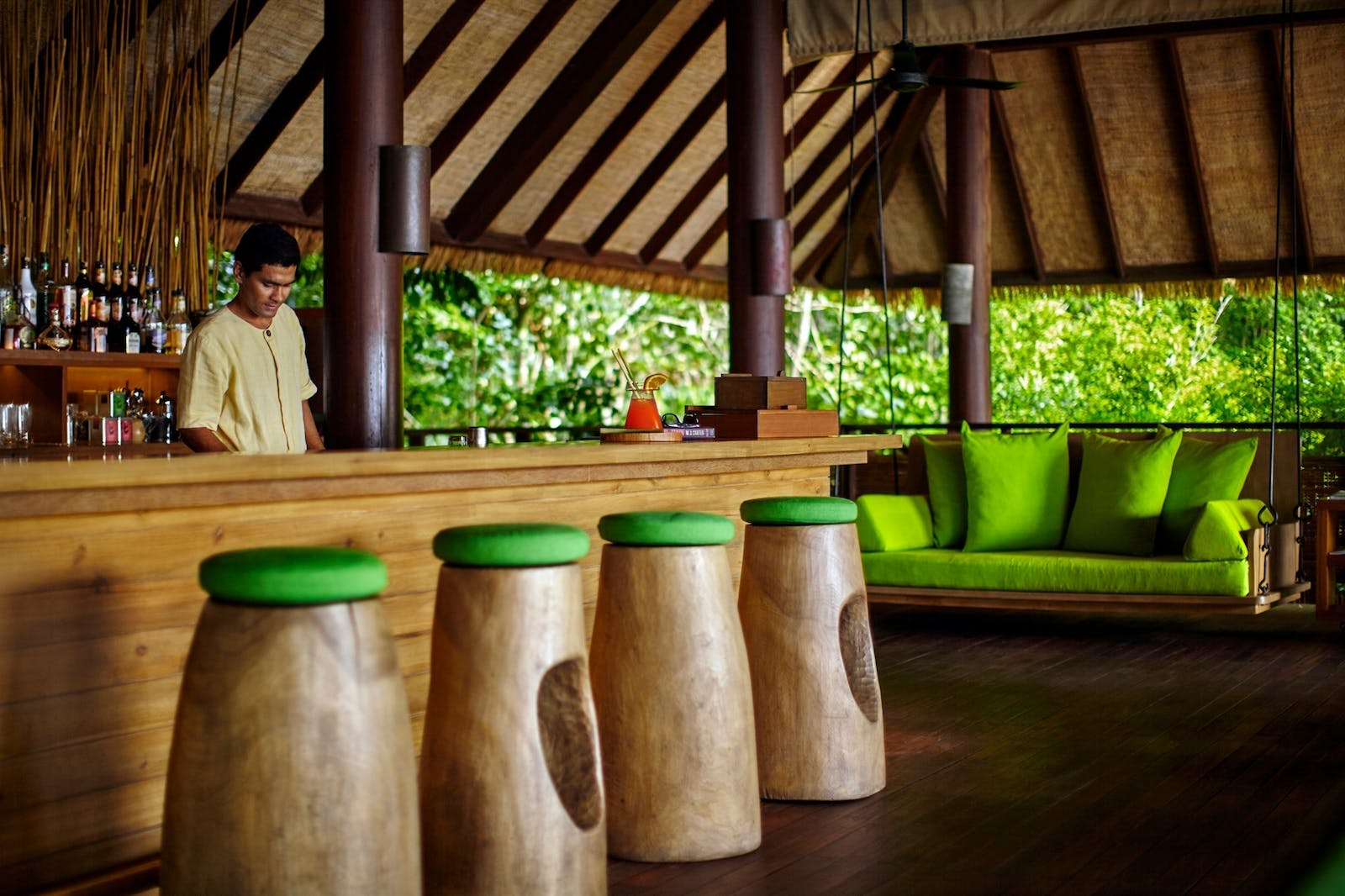 Drinks on the Hill, Six Senses Samui, Koh Samui, Thailand