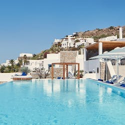 Pool Area, Katikies, Mykonos, Greece