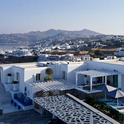 Ariel View, Myconian Kyma, Mykonos, Greece