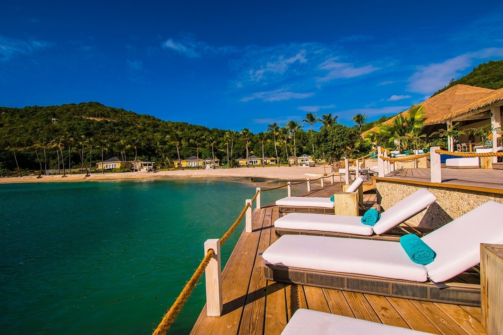 Beach Views at The Liming, St Vincent & The Grenadines, Caribbean