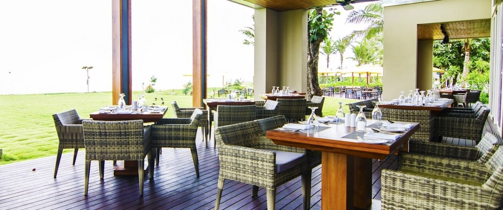 Dining area at Heritance Negombo