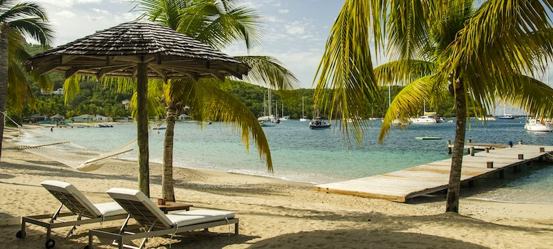 An idyllic place to relax alongside to the ocean at The Inn at English Harbour, Antigua
