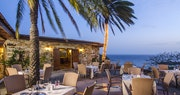 Superb restaurant surrounded by beautifully landscaped gardens at The Terrace Restaurant at The Inn at English Harbour, Antigua