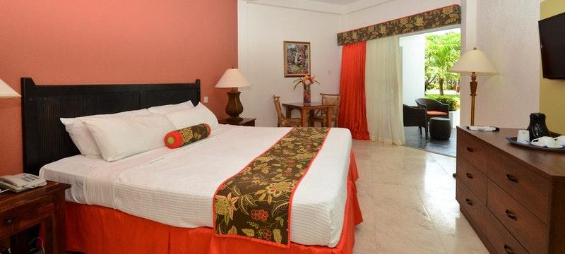 Bedroom at Coyaba Beach Resort, Grenada