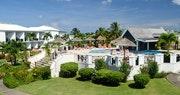 Swimming pool area at Coyaba Beach Resort, Grenada