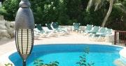 Pool area at The Atlantis, Barbados