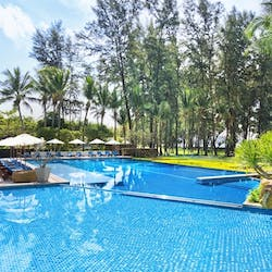 Swimming pool at Dusit Thani Krabi Beach Resort