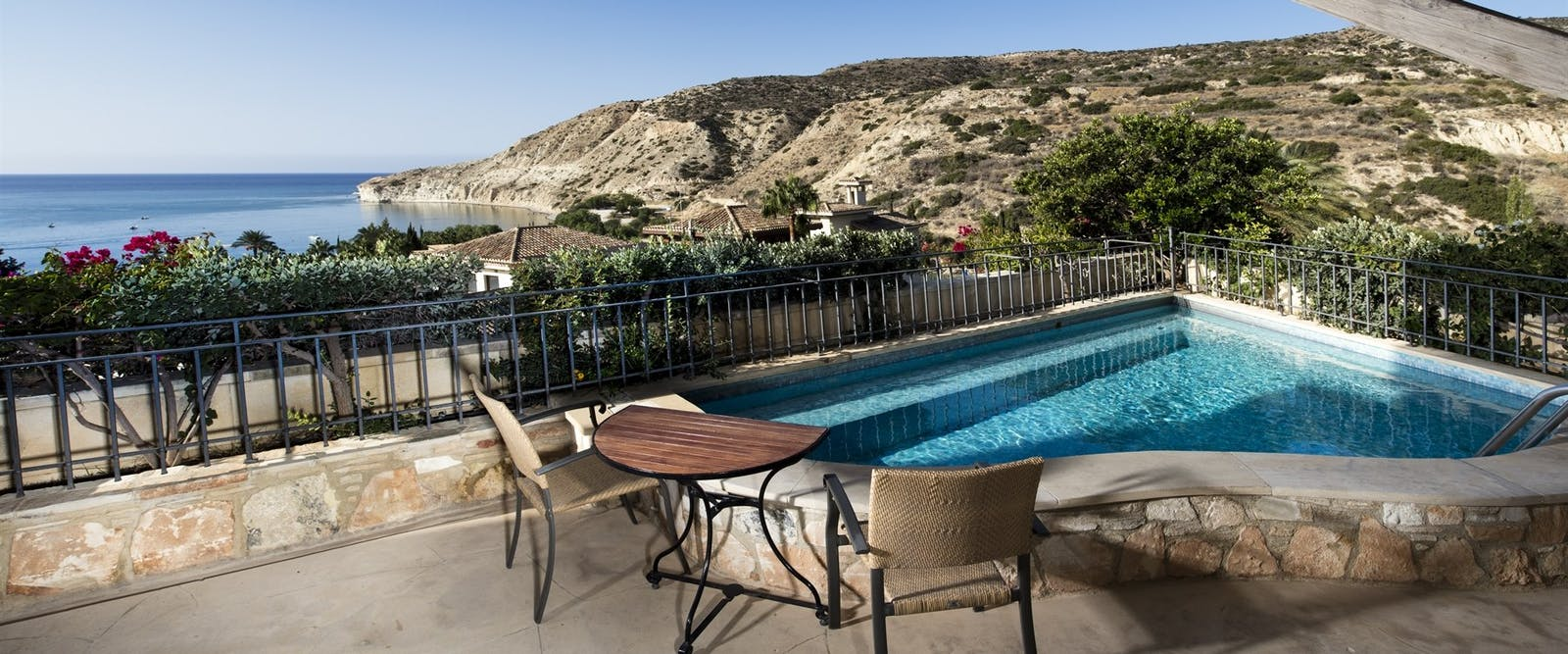 Eagles Nest Plunge Pool Terrace, Columbia Beach Resort, Pissouri Bay, Cyprus