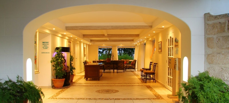 East side lobby at Bougainvillea Beach Resort, Barbados