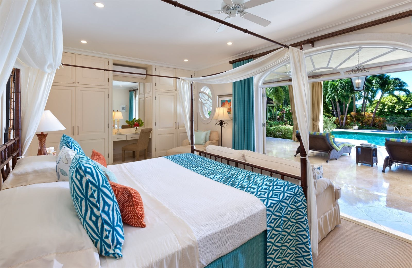 bedroom at eden villa sugar hill barbados