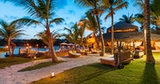 Beachfront terrace at Eden Roc at Cap Cana Boutique Suites & Beach Club