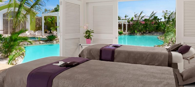 Solaya Spa Double Luxury Cabana at Eden Roc at Cap Cana, Dominican Republic