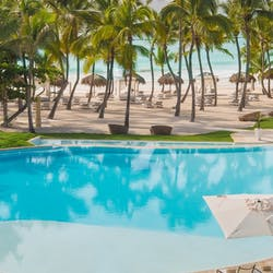 Infinity Pool and Beach at Eden Roc at Cap Cana Boutique Suites & Beach Club, Dominican Republic