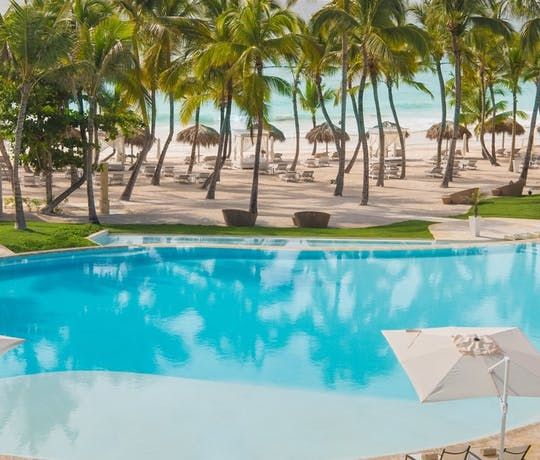 Infinity Pool and Beach at Eden Roc at Cap Cana Boutique Suites & Beach Club