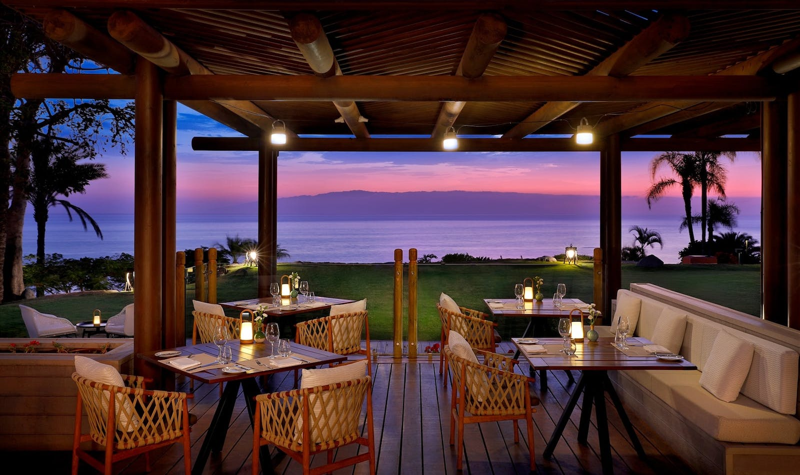 El Mirador Terrace at Night, The Ritz-Carlton, Abama, Tenerife