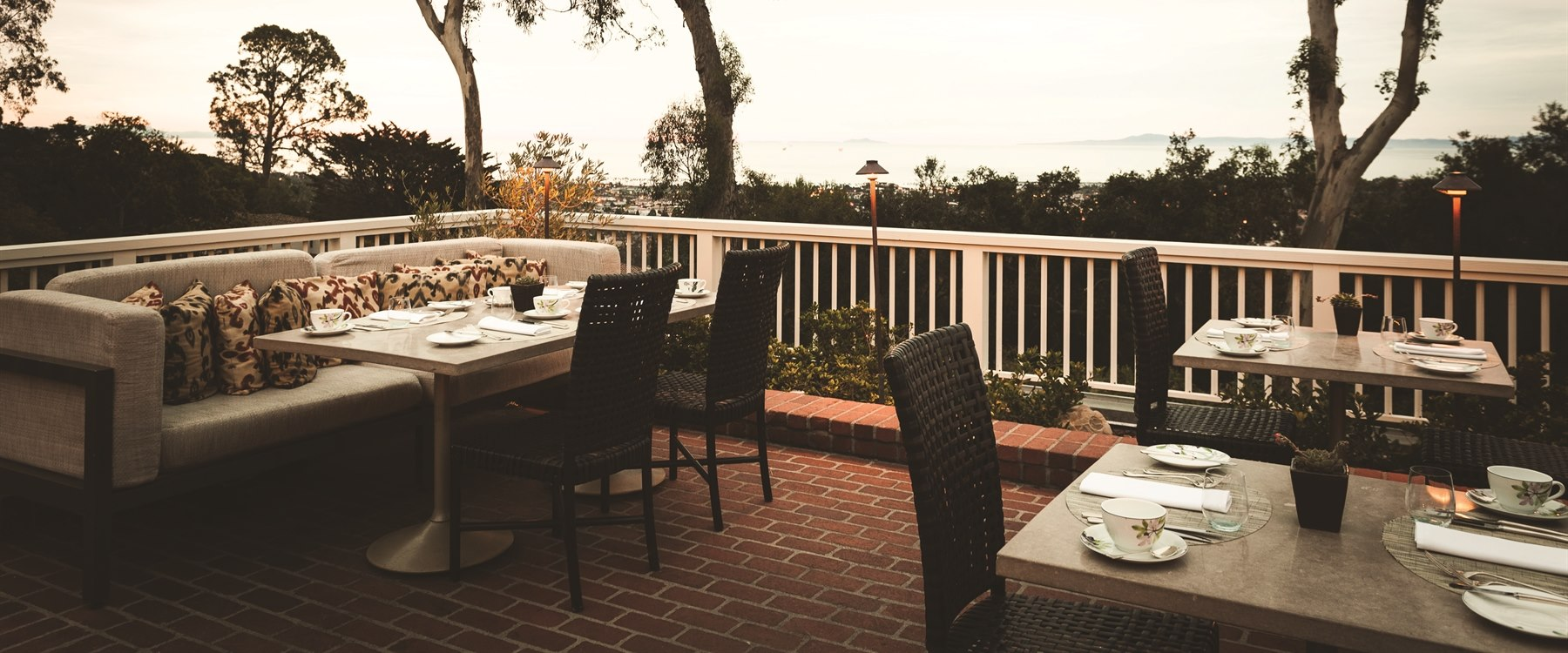 Terrace Restaurant at Belmond El Encanto, Santa Barbara