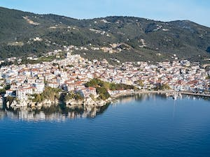 Overview, Elivi, Skiathos, Greece