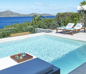 Presidential villa at Elounda Peninsula All Suite Hotel, Crete