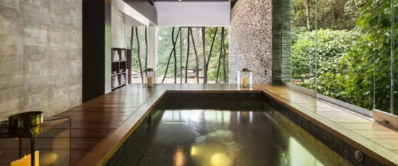 El mapi hotel by inkaterra peru world renowned luxury hotel - Explorer hotel paris swimming pool ...