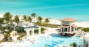 Visit the swim-up pool bar for a beverage at Sandals Emerald Bay, Bahamas