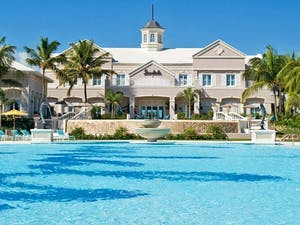 Exterior of Sandals Emerald Bay Golf, Tennis & Spa Resort, Bahamas, Caribbean