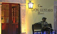 Entrance to Casa Don Gustavo