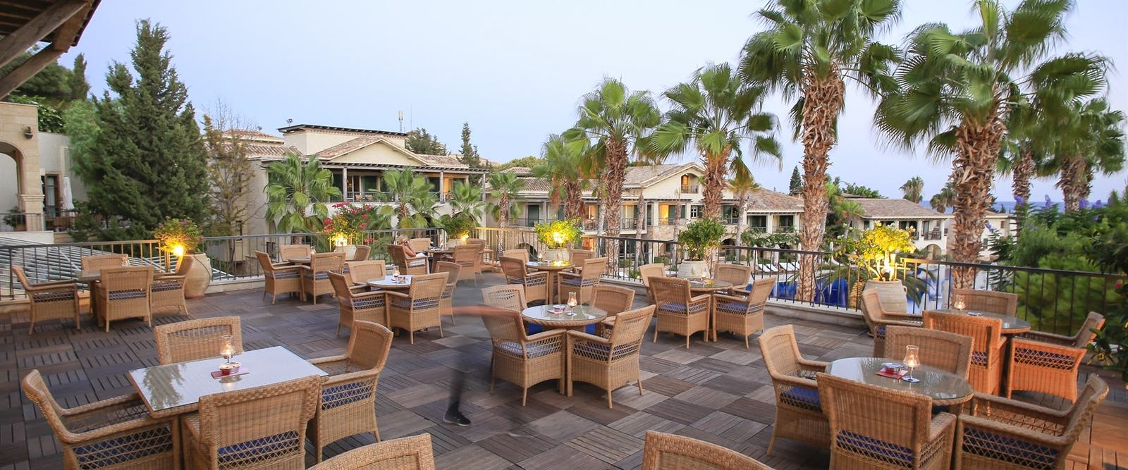 Eros Bar Terrace, Columbia Beach Resort, Pissouri Bay, Cyprus
