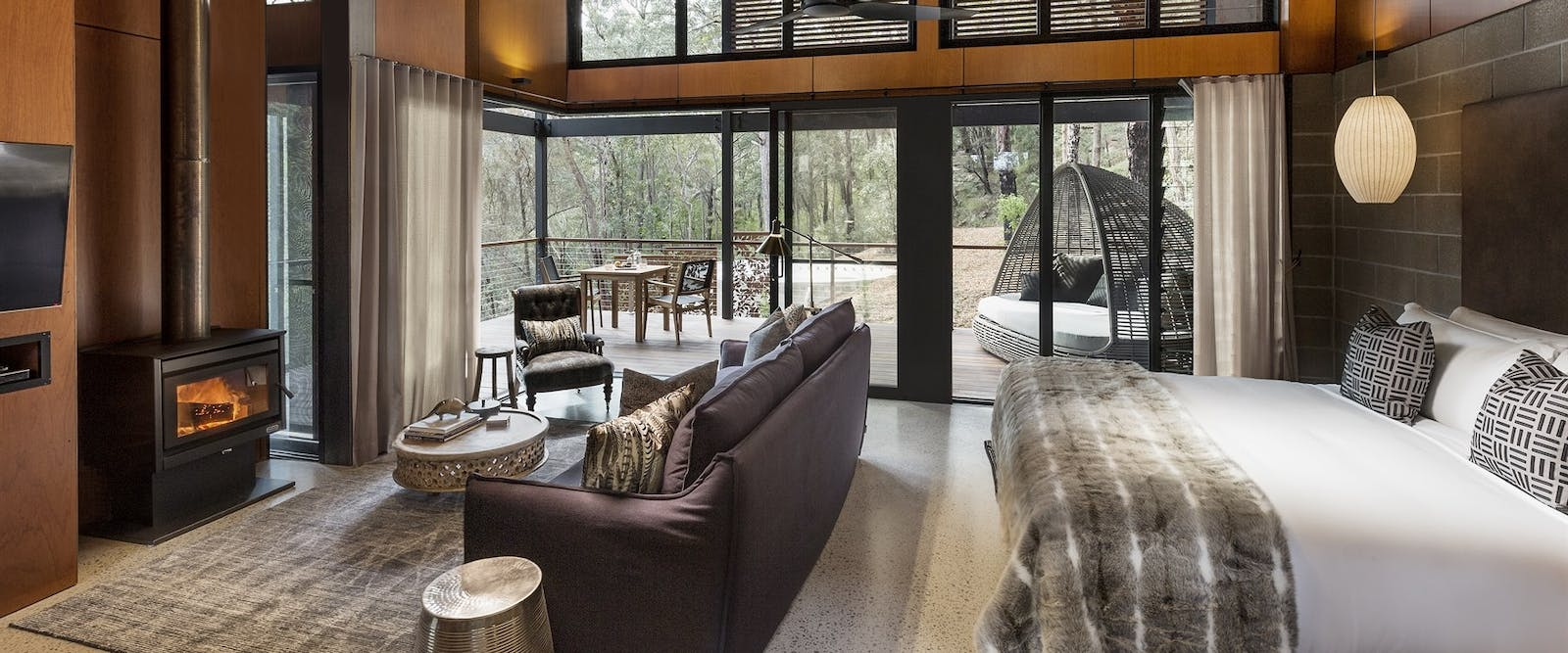 Escarpment suite at Spicers Sangoma Retreat, Australia
