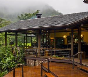 Main deck, El Silencio Lodge, Costa Rica