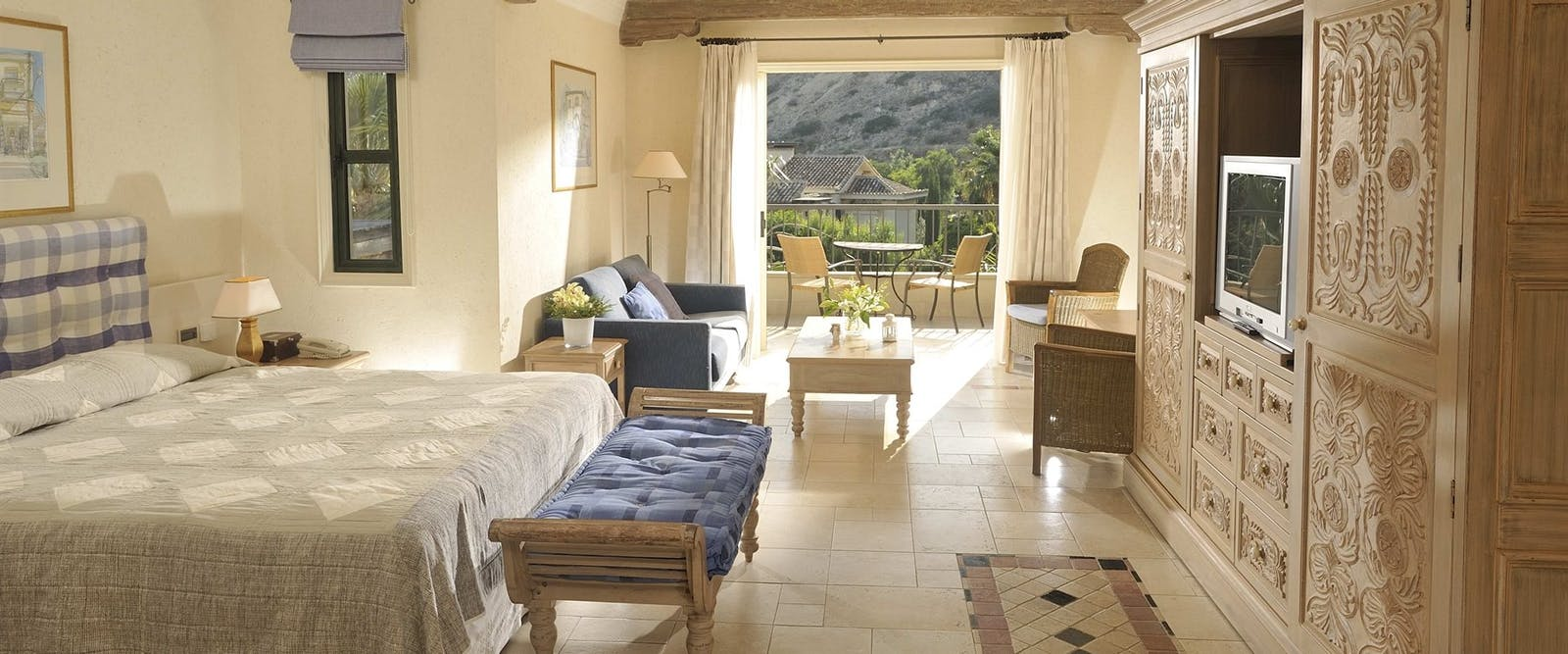 Executive Suite Garden View, Columbia Beach Resort, Pissouri Bay, Cyprus