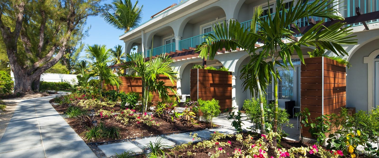 Exterior of Bedrooms at The Westin Grand Cayman Seven Mile Beach Resort & Spa, Cayman Islands